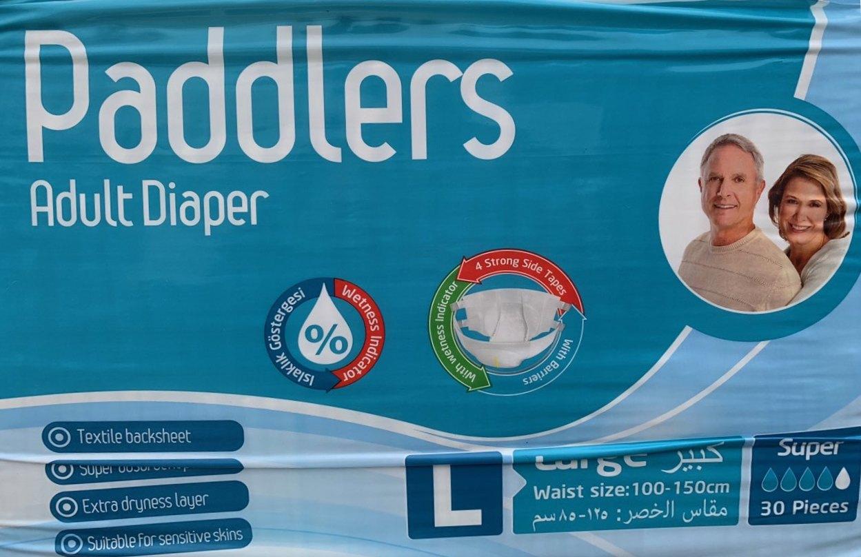 Купить Paddlers Super L Подгузники для взрослых 100-150см 30шт с ... 0408544d1c8